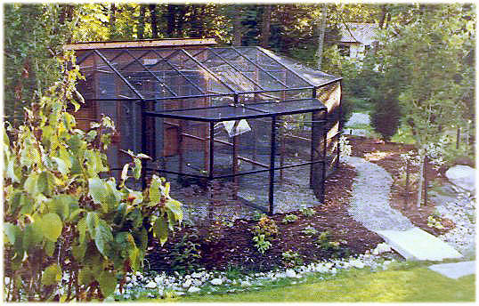 Cages, Custom Cages, Eurocage and Aviaries - Corners Limited